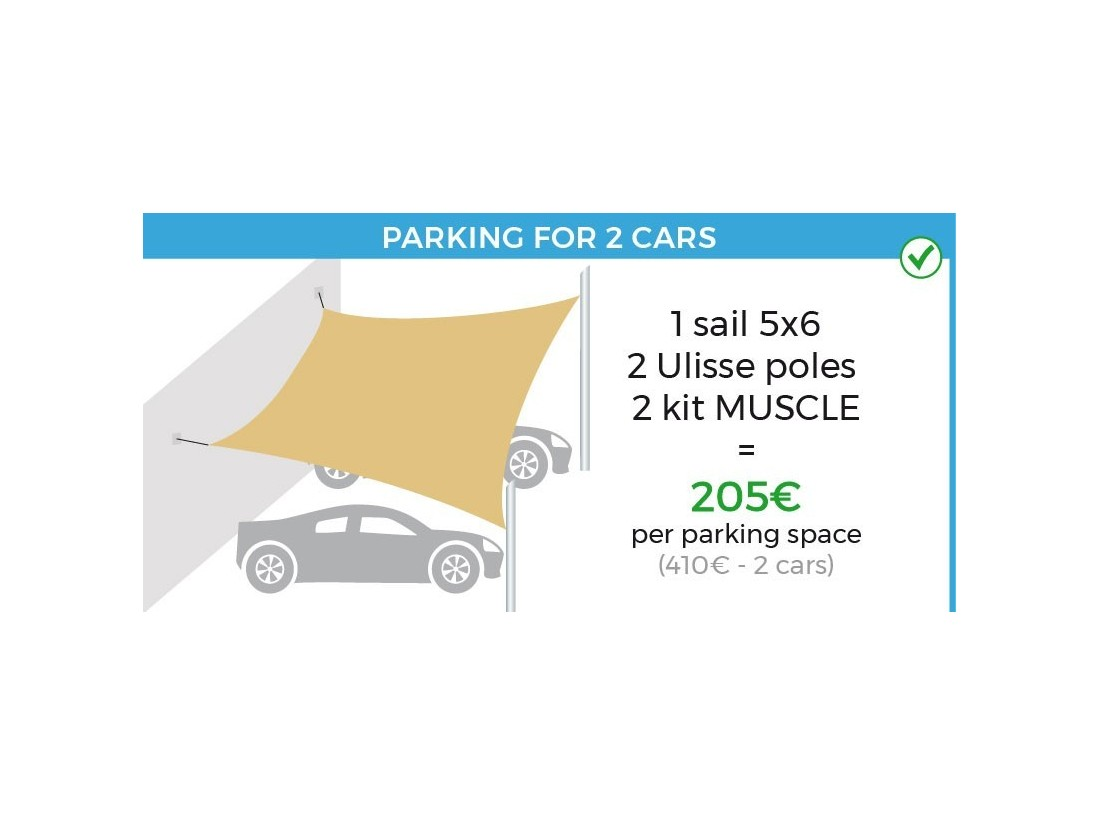 carport shade sail car cover lean