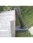 Easy Ballast - ballast base for shade sail poles