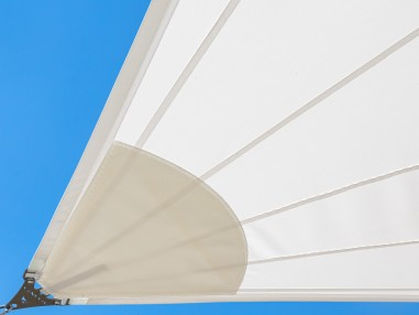 SolariA - our best radial cut waterproof shade sail