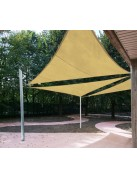 Ulisse - pole for shade sails variable height
